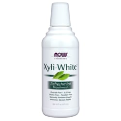 NOW FoodsXyliWhite Mouthwash Refreshmint