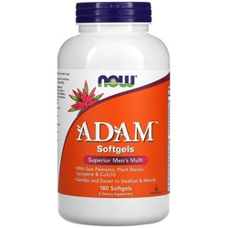 NOW FoodsADAM Softgels