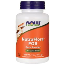 NOW FoodsNutraFlora FOS Pure Powder