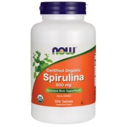 NOW FoodsCertified Organic Spirulina