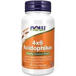NOW Foods4X6 Acidophilus