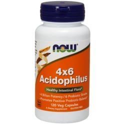 NOW FoodsAcidophilus 4X6