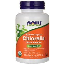 NOW FoodsCertified Organic Chlorella Pure Powder
