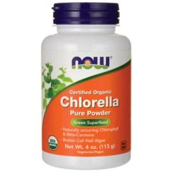 NOW Foods Chlorella Powder Certified Organic