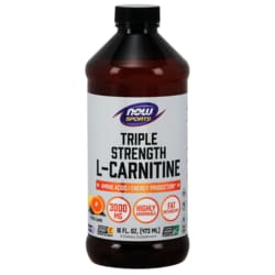 NOW FoodsTriple Strength L-Carnitine - Citrus