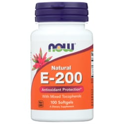 NOW FoodsNatural E-200 With Mixed Tocopherols