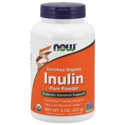 NOW Foods Inulin Certified Organic