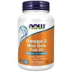 NOW FoodsOmega-3 Mini Gels