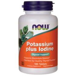 NOW FoodsPotassium Plus Iodine