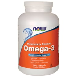 NOW FoodsMolecularly Distilled Omega-3