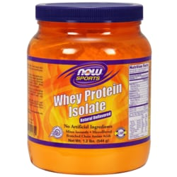 NOW Foods Whey Protein Natural Unflavored