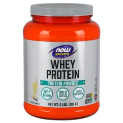 NOW Foods Whey Protein Natural Vanilla