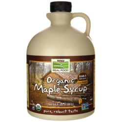 NOW Foods Grade B 100% Pure Organic Maple Syrup
