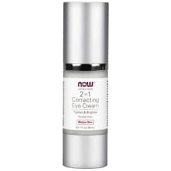 NOW Foods2 in 1 Correcting Eye Cream