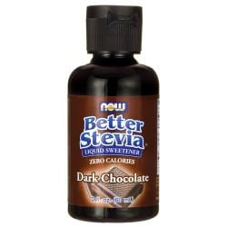 NOW FoodsBetter Stevia Liquid Sweetener - Dark Chocolate
