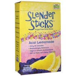 NOW Foods Drink Sticks Sugar Free Acai Lemonade