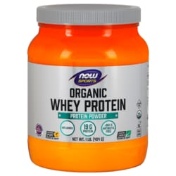 NOW FoodsWhey Protein Certified Organic Natural