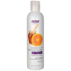 NOW FoodsVitamin C & Manuka Honey Gel Cleanser