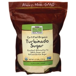NOW FoodsCertified Organic Turbinado Sugar