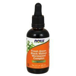 NOW FoodsFresh Green Black Walnut Wormwood Complex