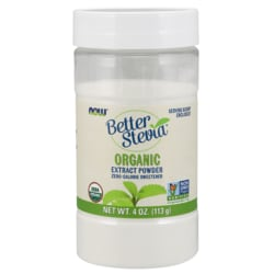 NOW FoodsCertified Organic Better Stevia Extract Powder