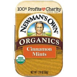 Newman's Own Organics Cinnamon Mints