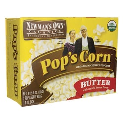 Newman's Own OrganicsPop's Corn Butter