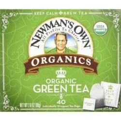 Newman's Own Organics Royal Organic Green Tea