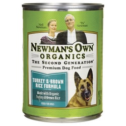 Newman's Own OrganicsPremium Dog Food Turkey & Brown Rice