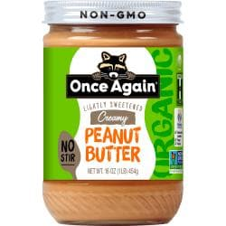 Once AgainOrganic American Classic Creamy No-Stir Peanut Butter