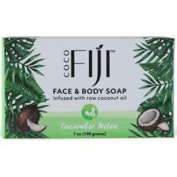Organic FijiOrganic Cucumber Melon Soap Bar