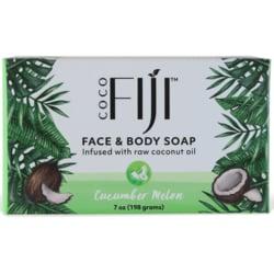 Organic Fiji Organic Cucumber Melon Soap Bar