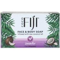Organic FijiFace and Body Coconut Oil Soap - Lavender