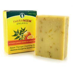Organix SouthTheraNeem Neem Therape Cleansing Bar Orange & Ylang Ylang