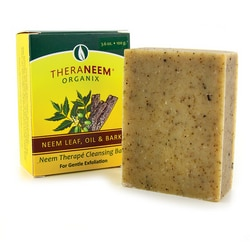 Organix SouthTheraNeem Neem Therape Cleansing Bar - Neem Leaf, Oil & Bark