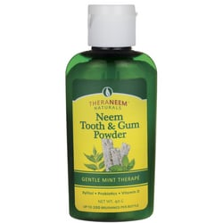 Organix SouthTheraNeem Naturals Neem Tooth & Gum Powder - Gentle Mint