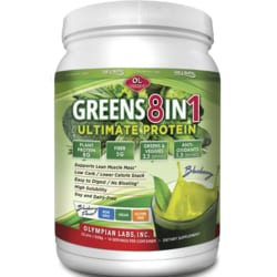 Olympian Labs Ultimate Greens 8 in 1 with Protein - Blueberry