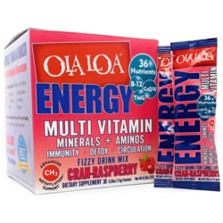 Ola Loa Energy Multi Vitamin Cran-Raspberry