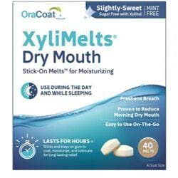 OraHealthXyliMelts for Dry Mouth - Mint-Free