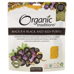 Organic TraditionsOrganic Maca X-6 Black & Red-Purple Powder