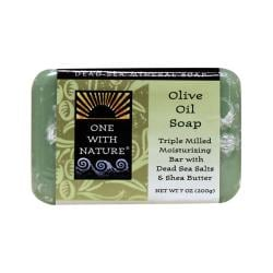 One With NatureDead Sea Minerals Triple Milled Bar Soap - Olive Oil