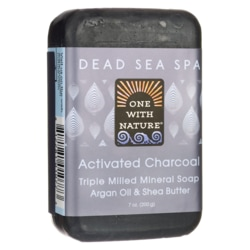 One With NatureDead Sea Spa Activated Charcoal Mineral Soap