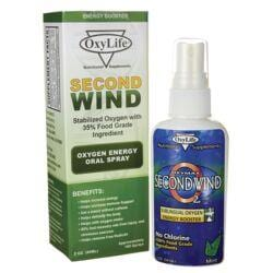 OxyLifeSecond Wind Oxygen Energy Oral Spray