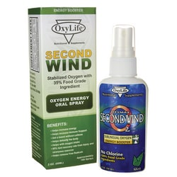 OxyLifeSecond Wind Oxygen Energy Oral Spray