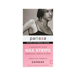 ParissaWax Strips Sensitive Assorted Sizes