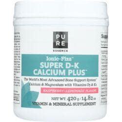 Pure EssenceIonic-Fizz Super D-K Calcium Plus - Raspberry Lemonade