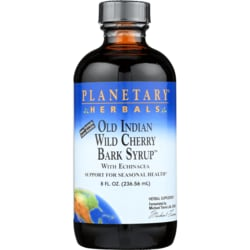 Planetary Herbals Old Indian Wild Cherry Bark Syrup