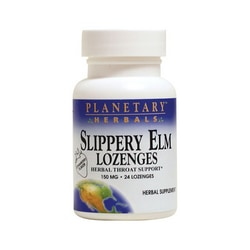 Planetary HerbalsSlippery Elm Lozenges - Strawberry