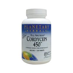 Planetary Herbals Cordyceps 450 Full Spectrum
