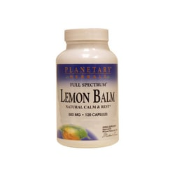 Planetary Herbals Full Spectrum Lemon Balm